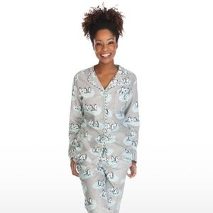 Munki Munki | Penguin Flannel Pajama Top